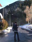 FOTO: Monica Niculescu a plecat în drumeție