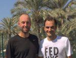 FOTO: Roger Federer a început antrenamentele la Dubai