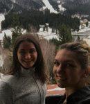 POZA ZILEI, 17 noiembrie 2016: Simona Halep și Monica Niculescu au început cantonamentul din Poiana Brașov