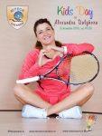 Alexandra Dulgheru va juca tenis cu copiii azi la Nitech Sport