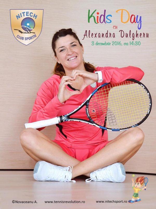 alexandra dulgheru kids day nitech sport