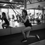 FOTO: Andreea Mitu, singură în sala de antrenament