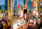 FOTO: Înainte de Cupa Hopman, Belinda Bencic s-a dat în carusel la Perth