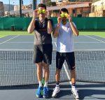 POZA ZILEI, 23 decembrie 2016: Novak Djokovic şi Milos Raonic privesc deja spre noul sezon