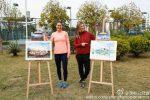 FOTOGALERIE: La Shenzhen, Simona Halep și Monica Niculescu au jucat la dublu și la pictură. Iată ce a ieșit