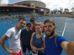 FOTO: Simona Halep, primul antrenament în Australia, la Adelaide