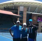 FOTO: Simona Halep l-a cunoscut pe tatăl lui Darren Cahill și a vizitat echipa de fotbal australian Port Adelaide
