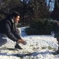 Zăpada care a căzut azi în cea mai mare parte a țării i-a bucurat pe Victor Hănescu și pe băiețelul lui, Luca Andrei. Evident, pentru un copil de trei ani,...