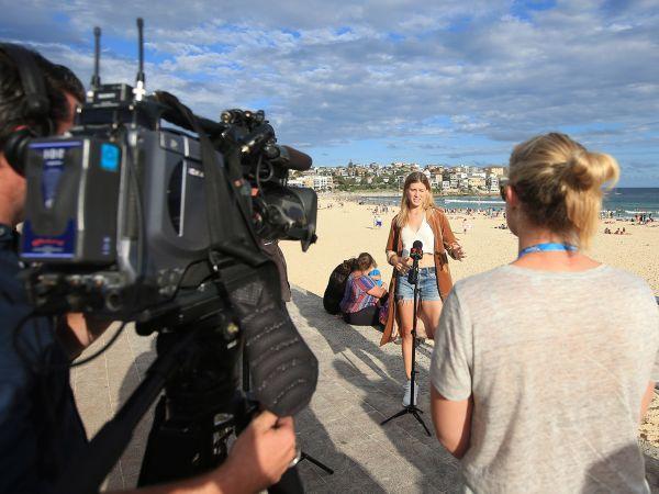 Eugenie Bouchard bondi beach sydney  01