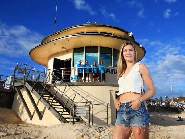 Eugenie Bouchard bondi beach sydney  02