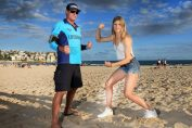 Eugenie Bouchard bondi beach sydney