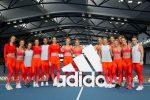 FOTOGALERIE: Simona Halep a făcut înviorarea alături de Kerber, Muguruza și echipa Adidas la Melbourne