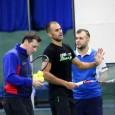 Echipa de Cupa Davis a României a inceput antrenamentele la Minsk, acolo unde de vineri până duminică vor juca împotriva formației Belarus în primul tur al Grupei I a Zonei...