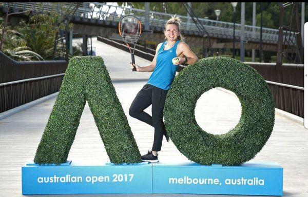 inaugurare australian open simona halep 1