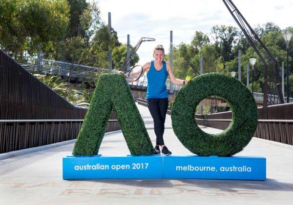 inaugurare australian open simona halep 8