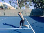 FOTO: Maria Sharapova a început antrenamentele pentru revenirea din aprilie