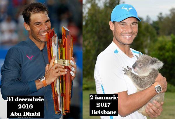 rafael nadal colaj trofeu si koala