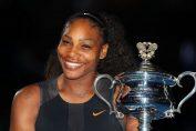 serena williams trofeu australian open
