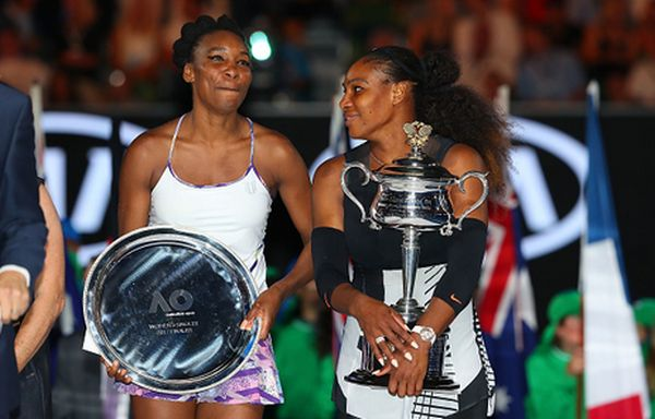 serena venus williams trofeu australian open
