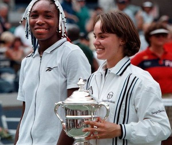 venus williams hingis 1997 us open