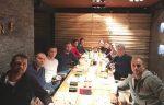 FOTO: Echipa de Cupa Davis a României la cină, în Minsk. Vineri încep meciurile