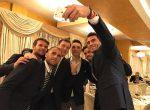 POZA ZILEI, 2 februarie 2017: Echipa de Cupa Davis a României la dineul oficial. Azi are loc tragerea la sorți a meciurilor din partida Belarus – Romania
