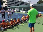 FOTO: Horia Tecău, antrenor pentru copiii din Dubai