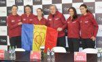 Fed Cup România – Belgia: Ce au declarat jucătoarele noastre și Ilie Năstase la conferința de presă