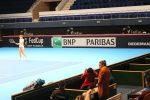 EXCLUSIV – FOTO: Simona Halep a asistat și miercuri la antrenamentul echipei de Fed Cup