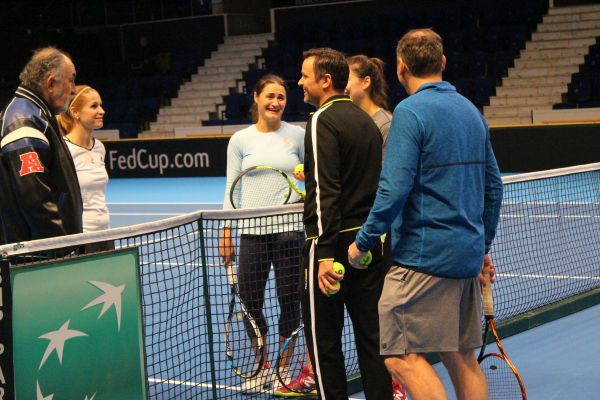 ion tiriac fed cup romania