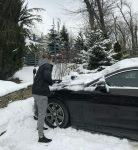 FOTO: Simona Halep a trecut la treaba în parcare înaintea meciului din Fed Cup România – Belgia