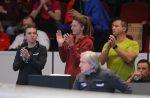 FOTO: Simona Halep, Alexandra Dulgheru și Raluca Olaru au urmărit meciul cu Belgia din loja echipei României