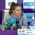 """Simona Halep s-a retras înaintea sferturilor de finală la St. Petersburg și, pentru că era principala favorită, ea a trebuit să explice și presei ce s-a întâmplat. """"Sunt dezamăgită că..."""