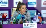 """Simona Halep, la revenirea în țară: """"Am doar o inflamație, am puțin lichid, dar trebuie să fac pauză"""""""