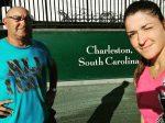 FOTO: Alexandra Dulgheru joacă la Charleston în primul turneu WTA