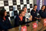 """Simona Halep, înaintea meciului cu Marea Britanie: """"Sperăm să câştigăm""""."""
