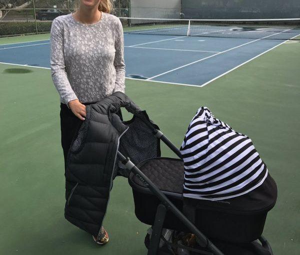 victoria azarenka copil teren tenis