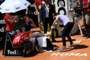 accidentare simona halep