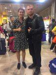 FOTO: Sorana Cîrstea și Cătălin Moroșanu, colegi de zbor cu peripeții spre Madrid
