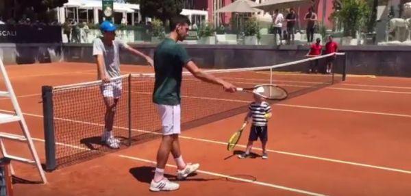 stefan djokovic tenis novak djokovic roma