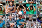 Nadal, cu cele 10 trofee cucerite la Roland Garros