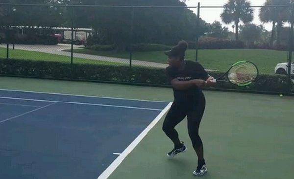 Serena Williams tenis gravida insarcinata