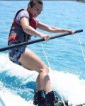 FOTO: Simona Halep se distrează din plin în vacanță, pe mare