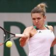 """Calificată în optimile de finală la Roland Garros, Simona Halep a fost zâmbitoare la conferința de presă de după victoria cu Kasatkina, scor 6-0, 7-5. """"Sunt fericită că am câştigat,..."""