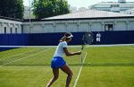 FOTO: Sorana Cîrstea a început antrenamentele pe iarbă