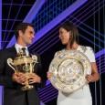 În mod tradițional, turneul de la Wimbledon se încheie cu o Cină a Campionilor. Anul acesta, vedetele serii au fost, evident, campionii de la simplu, Roger Federer și Garbine Muguruza....