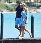 FOTO: Roger Federer a avut câteva zile de vacanță la plajă, în Sardinia