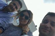 selfie simona halep tribune brd bucharest open