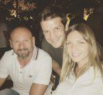 FOTO: Simona Halep a petrecut alături de Cristi Chivu, Bogdan Stelea și Marius Copil