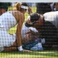 Sorana Cîrstea a avut parte de momente dramatice joi. Bethanie Mattek Sands s-a accidentat la genunchi chiar sub ochii ei, iar pentru câteva zeci de secunde ea a fost singura...